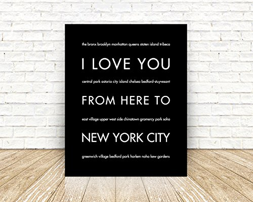 New York City Unframed Giclée Premium Fine Art Print, Handmade Artisian Home Decor