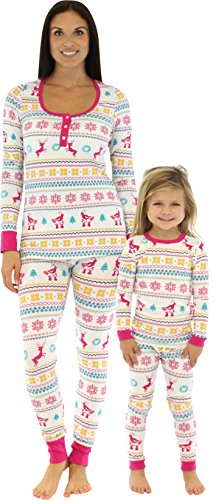 Bedhead Mommy & Me Matching Partridge Fair Isle Pajamas - (Mommy And Me Matching Pajamas)