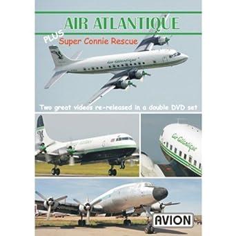 amazon co jp avion air atlantique plus super connie rescue dvd by