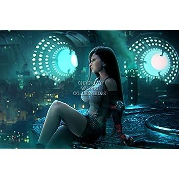CGC Huge Poster - Final Fantasy VII HD Remake Tifa Lockhart PS1 PS2 PS3 PS4  PSP Vita GLOSSY FINISH - OTH545 (16