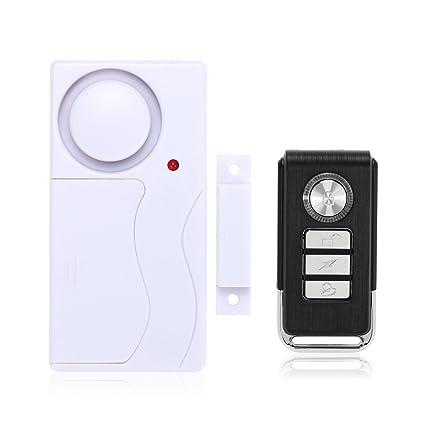 Mengshen Inalámbrico casa Puerta Ventana Alarma de ladrón DIY Seguridad Sistema de Alarma de Seguridad Sensor