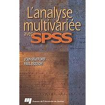 Analyse multivariée avec SPSSL'
