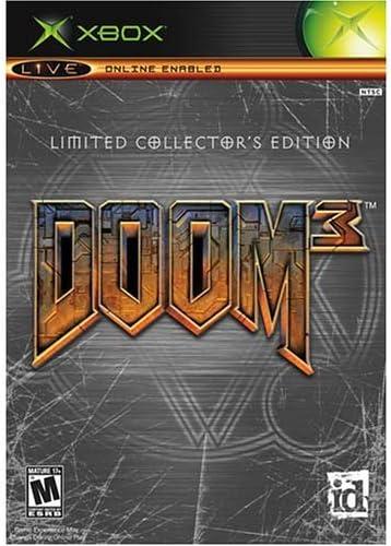 Doom 3 Limited Collectors Edition - Xbox (Collectors) by ...