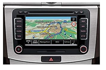 VW RNS 510 NAVIGATION SYSTEM WITH VOICE CONTROL 1T0057680D