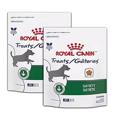 Royal Canin Veterinary Diet Satiety Canine Dog Treats 17.6 oz (2 Bags)