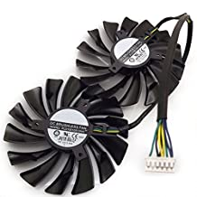 PLD10010S12HH 95MM Graphics card fan for MSI GTX970 GTX980 GTX980Ti GAMING VGA video Card heatsink cooler fan