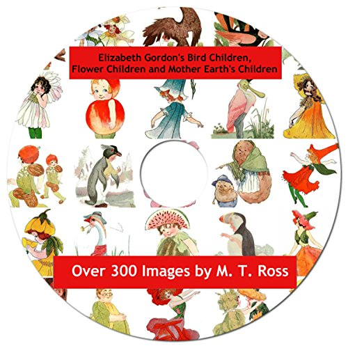 Images Free Vintage Royalty - Bird Children, Flower Children and Mother Nature's Children on CD, Over 300 Royalty Free Images, Artwork