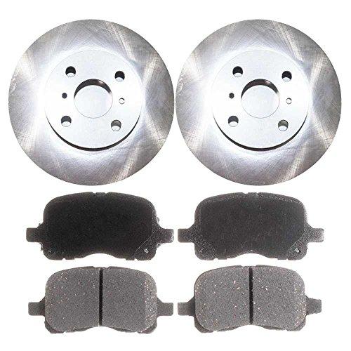 Prime Choice Auto Parts RSCD41058-41058-741-2-4 Set of 2 Premium Rotors & 4 Ceramic Pads