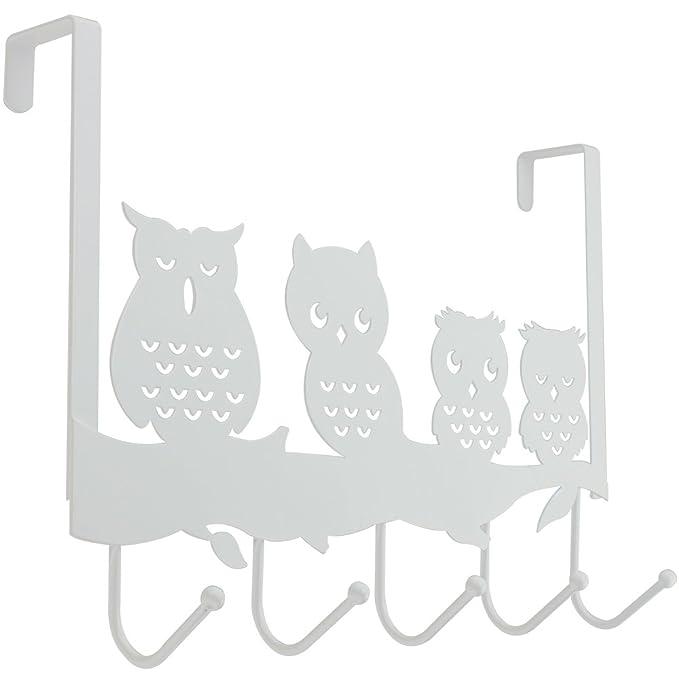 8 opinioni per COM-FOUR® Gufo Porta Appendiabiti con 5 Ganci Metallici (01 Pezzo- Gufo)