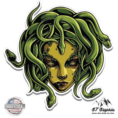 Medusa Snakes Mythical creature - 5