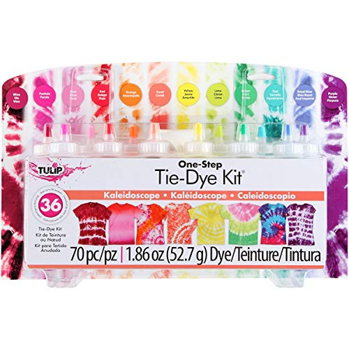 Tulip One-Step Kaleidoscope Tie Dye Kit - 12 Colors - Makes 36 Projects
