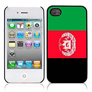 Afghanistan Hard Plastic and Aluminum Back Case for Apple iphone 4 4S