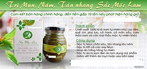 Sắc Mộc Lam - Phép màu từ thiên nhiên- Cỏ thảo dược đặc trị mụn- nám- tàn nhang Sắc Mộc Lam- Natural herbal remedy dark acne skin, melasma - Ship ()