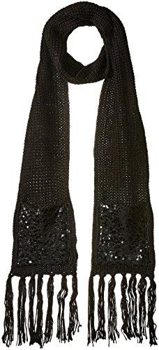Betsey Johnson Women's Sequins Shine Muffler