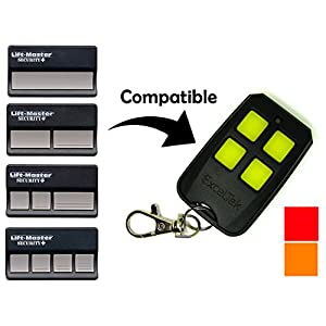 Compatible Garage Remote with Liftmaster Chamberlain Craftsman 970LM 971LM 972LM 973LM 91LM 92LM 94LM 96LM 139.53680 139.53681 by ExcelTek