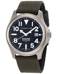 Momentum Men's 1M-SP00B6G Atlas Khaki Cordura Watch