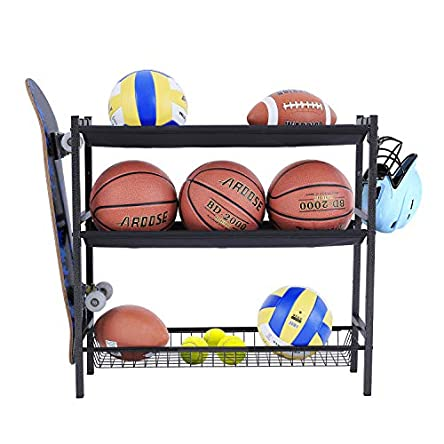Mythinglogic Garage Sports Equipment Organizer, Sports...
