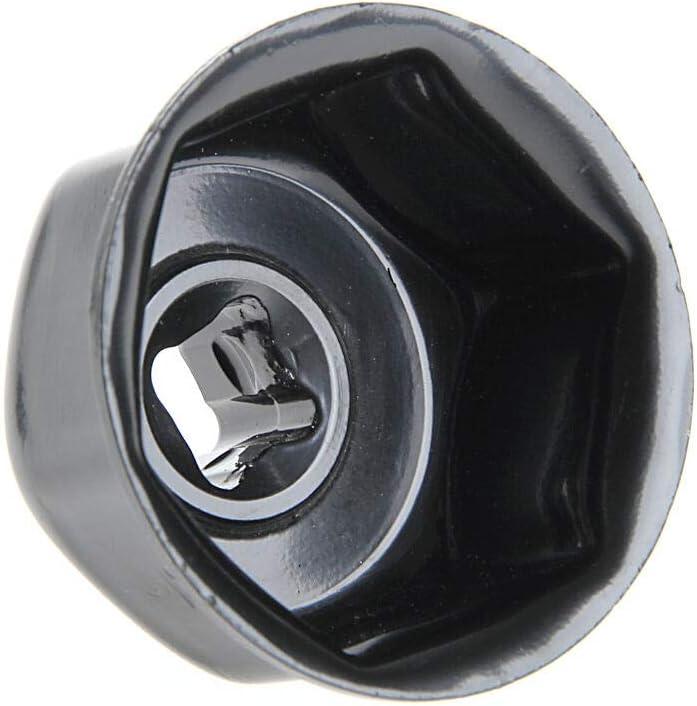 DEDC 1pcs Llave de Filtro de Aceite de 36mm Herramienta de Eliminaci/ón de Taza de Extremo de Llave de Filtro de Aceite para Coche