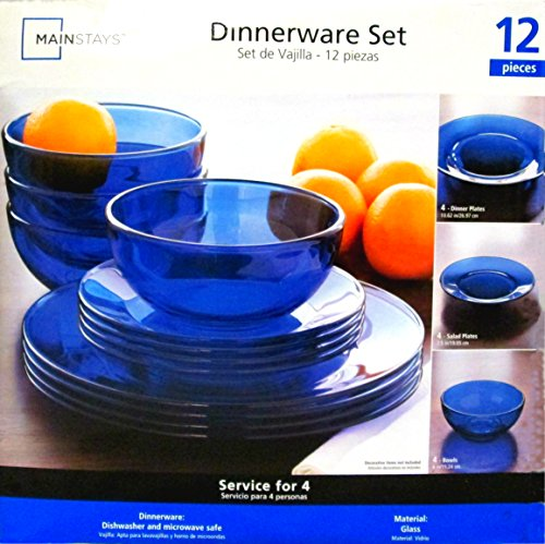 & Amazon.com | Mainstays Dinnerware Set 12 Piece Set: Dinnerware Sets