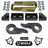2001 gmc 2500 lift kit - WULF 2001-2010 Chevy GMC 2500 3500 3 Front 1