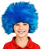 Party Hair Children's Blue Straight up in The Air Wig, Emulate your Favorite Characters! …