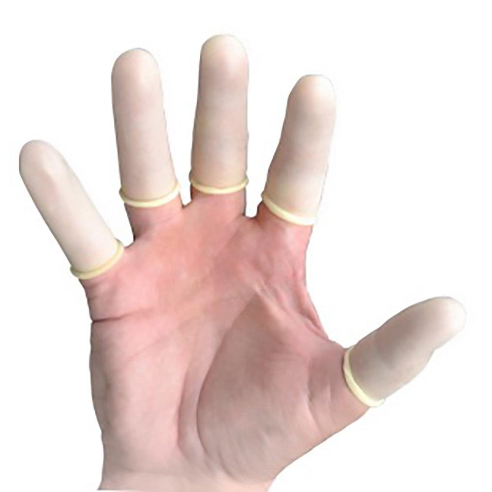 SANITip Disposable Latex Finger Cots (1440 Count) Powder Free Finger Protectors L/XL by Truline (Image #2)