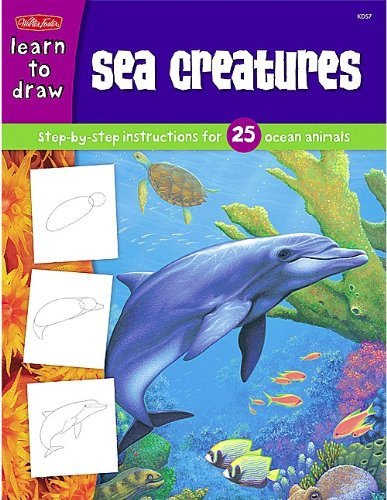 learn to draw sea creatures - 8