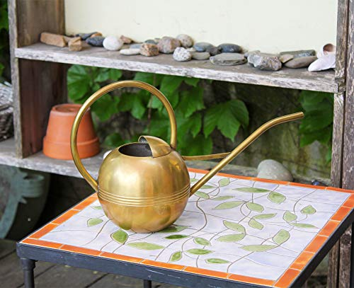 Brass small watering can