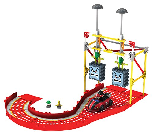 K'NEX Nintendo Mario Kart Wii  Mario versus The Thwomps Building Set, 139 pieces (Boys 8 Games Wii Age)