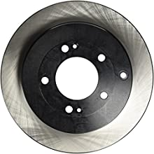 Centric Parts 120.51022 Premium Brake Rotor with E-Coating