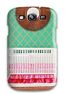 Case Cover Mid-century Modern Girl8217s Nursery/ Fashionable Case For Galaxy S3 by lolosakes