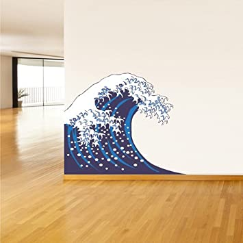 Amazoncom Full Color Wall Decal Mural Sticker Art Asian Japan - Japanese wall decals