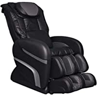 Osaki OS3000ACHIRO Model OS-3000 Chiro Massage Chair, Black, Auto Recline, L-Track Roller System, Leg Adjustment, Timer…