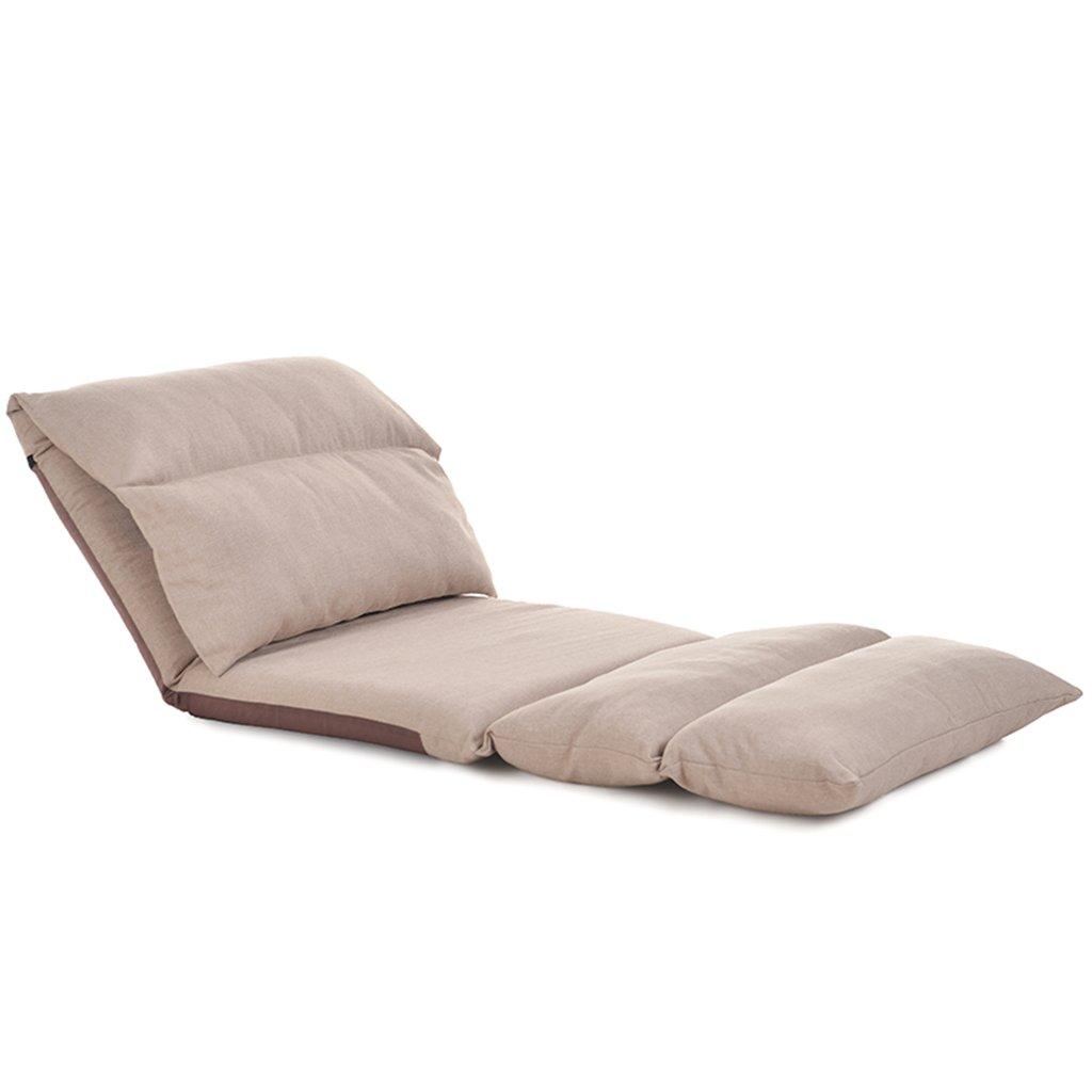 Unbekannt Bodenstuhl Extra Große Zusammenklappbare Faule Stühle, Tragbares Gepolstertes Gewebe-Boden-Bett, Länge 226cm