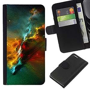 All Phone Most Case / Oferta Especial Cáscara Funda de cuero Monedero Cubierta de proteccion Caso / Wallet Case for Apple Iphone 5C // Nebula Universe Space Science