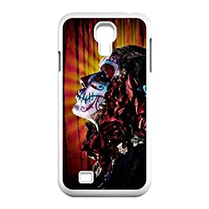 Cell phone Cases Of Artistic Skull Bumper Plastic Hard Case For Samsung Galaxy S4 i9500