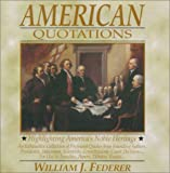 American Quotations, William J. Federer, 0965355713