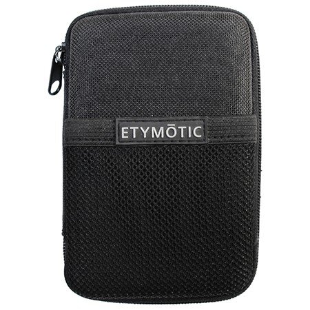 Etymotic Research ER38-65D Deluxe Earphone/Headset Zippered Pouch Carrying Case, Black