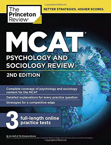 MCAT Psychology and Sociology Review (Graduate School Test Preparation)