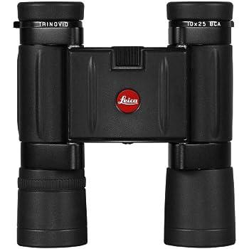 Leica 10x25 BCA w/Case Binocular (Black)