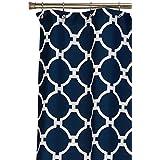 Jill Rosenwald Hampton Links Shower Curtain, Navy