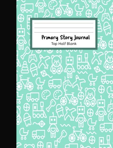 """Download Primary Story Journal Top Half Blank: Primary Journal Creative Story Papers : Picture Box and Lines, 7.44""""x9.69"""" 160 Pages/80 Sheets pdf epub"""