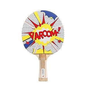 Donkey Tischtennisschläger, Aufschlag, 2 Bälle, Ping Pong Varoom!, 330803