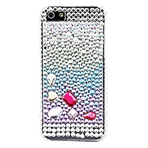 MOFY-Caja dura superficie del diamante para el iphone 5/5s