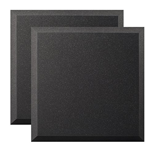Ultimate Acoustics UA-WPB-24 Wall Panel 24''x24''x2'' Professional Acoustic Foam with Bevel and Mounting Tabs Included, 4 Pairs by Ultimate (Image #4)