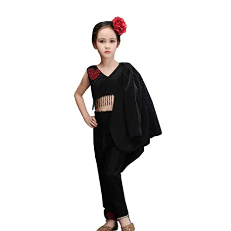 JIE. Vestido de los niños Negro Extranjero Modelo Pasarela ...