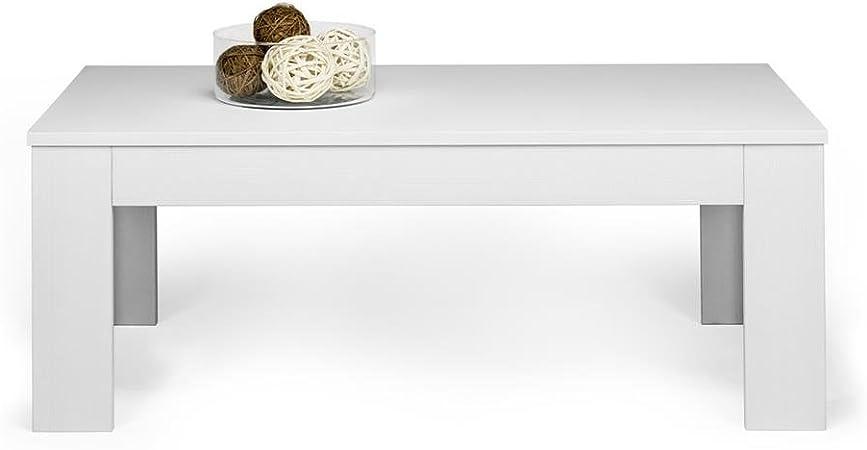 50 x 33 x 40 cm Frassino Nero Made in Italy Mobili Fiver Nobilitato Tavolino da Salotto Emma
