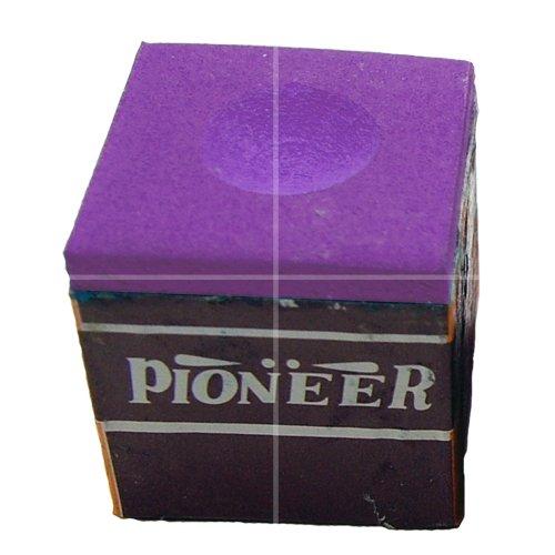 Tornament quality 12 blocks 1 box of purple pool table chalks,