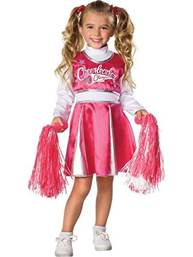Rubie's Let's Pretend Child's Cheerleader Camp Costume, -