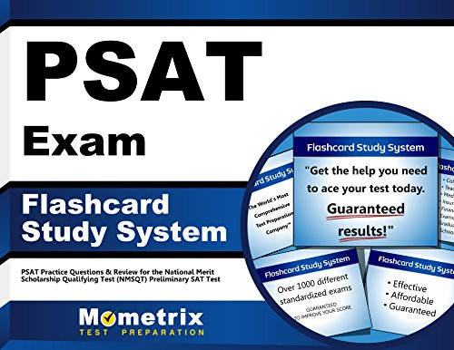 PSAT Exam Flashcard Study System: PSAT Practice Questions & Review for the National Merit Scholarship Qualifying Test (NMSQT) Preliminary SAT Test (Cards)